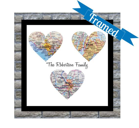 Gift+for+Groom+Personalized+Map+Heart+Art+Gift++by+DefineDesign11,+$59.00