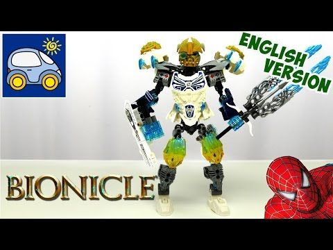 Lego Bionicle 2016. Kopaka and Melum VS Spiderman. Lego Bionicle Review…