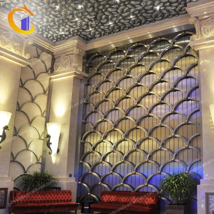 Factory Wholesale Design stainless steel Decorative Interior Metal Wall Panels