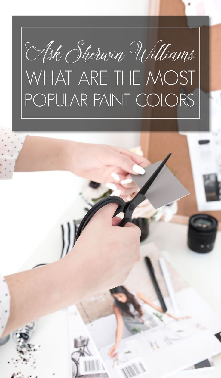 Ask Sherwin Williams What are the Most Popular Paint Colors?