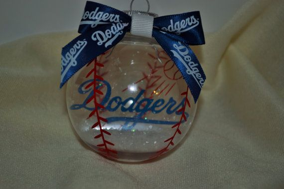 Baseball floating christmas ornament by fromthebobbinup on etsy 10