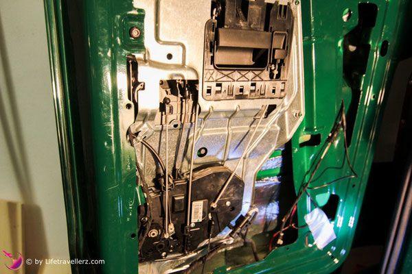 Einbau Rückfahrkamera, VW T5 Bus, Lifetravellerz.com