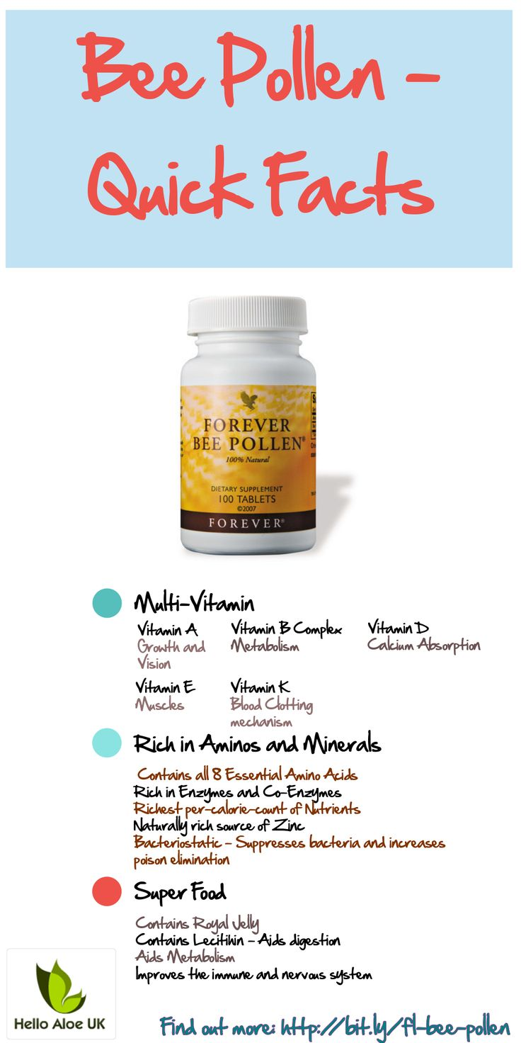 Quick facts about the super-food supplement - Forever Living Bee Pollen.