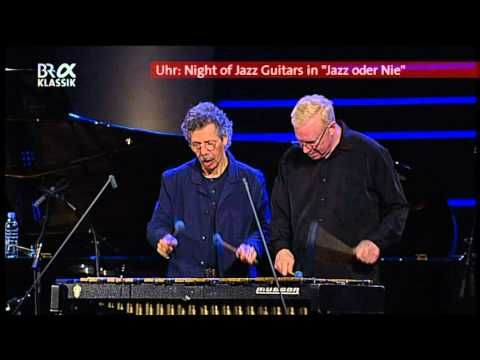 Chick Corea & Gary Burton - Armando's Rumba - YouTube This is so great - they are both playing on the same vibraphone. Watching them trade places - the whole thing is a gas!