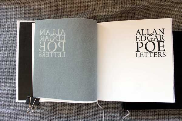 The White Book, The Book of Letters
