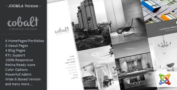 Cobalt - Responsive Multipurpose Joomla Theme