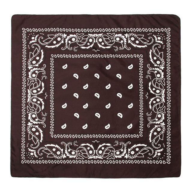 Paisley red bandana women scarf hiphop men bandanas square scarf 55cm55cm rock cool head wrap scarf cowboy scarves  – Products