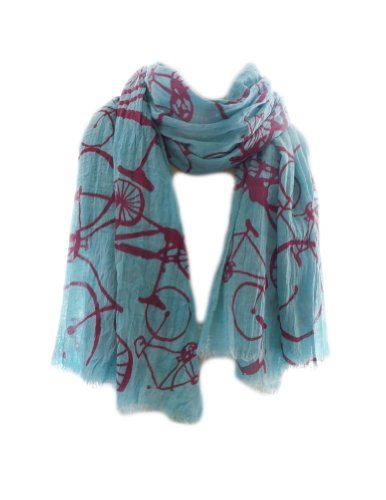 Bicycles scarf for springtimes rides