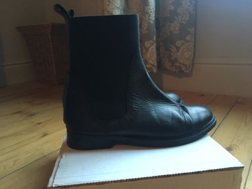 Topshop black leather #ankle #chelsea #boots uk 6/39,  View more on the LINK: 	http://www.zeppy.io/product/gb/2/232135461530/