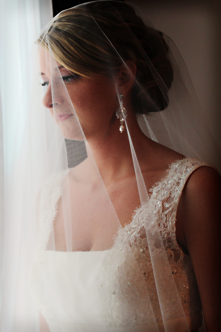 Love this accidental shot on my wedding day