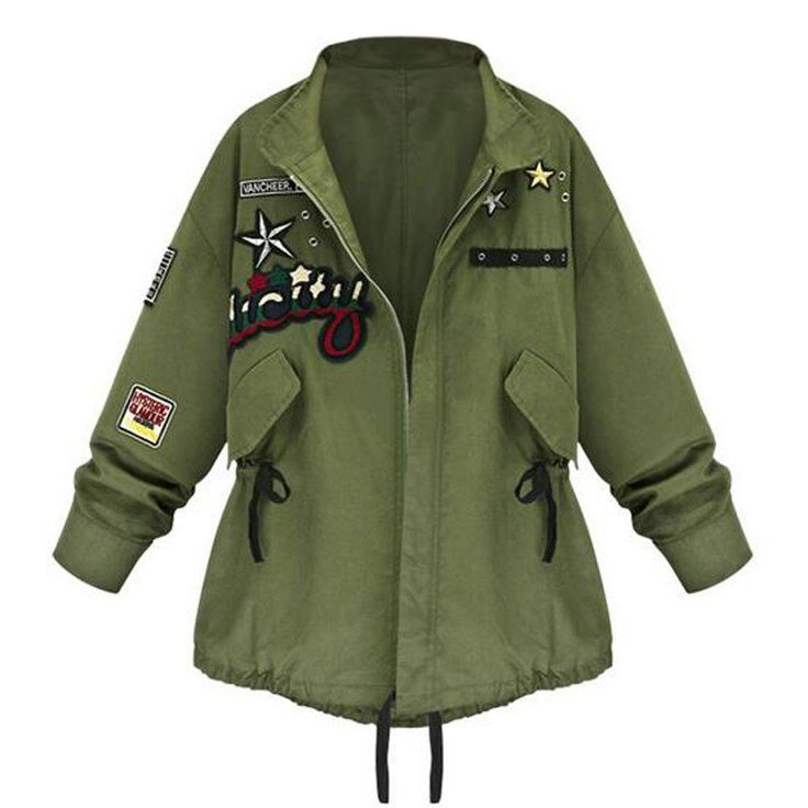 """Cheap jacket women plus size, Buy Quality jackets snow directly from China jacket suzuki Suppliers:  Size chart XL  bust:108cm/42.5"""" shoulder:46cm/18.1"""" sleeve:57cm/22.4"""""""