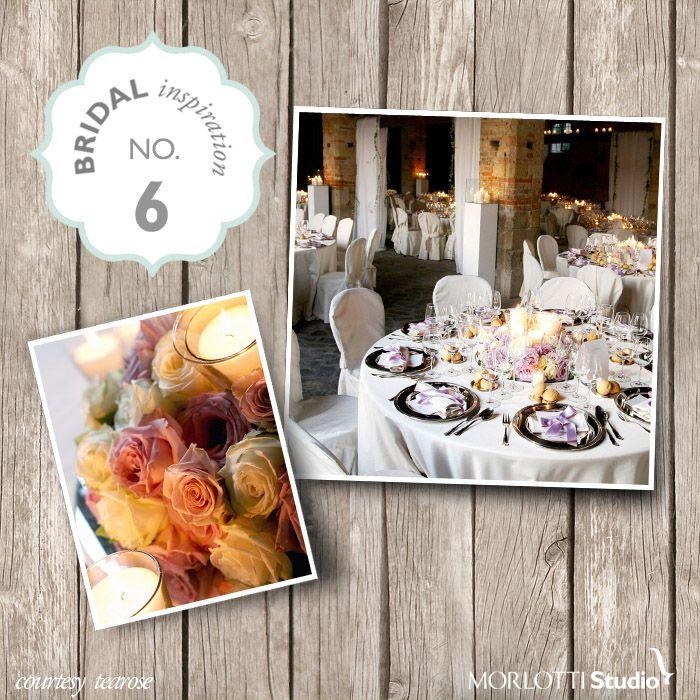 TeaRose - Bridal Inspiration n°6 - http://www.morlotti.com #wedding #matrimonio