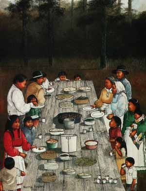 Norma Howard-Dinner on the Grounds