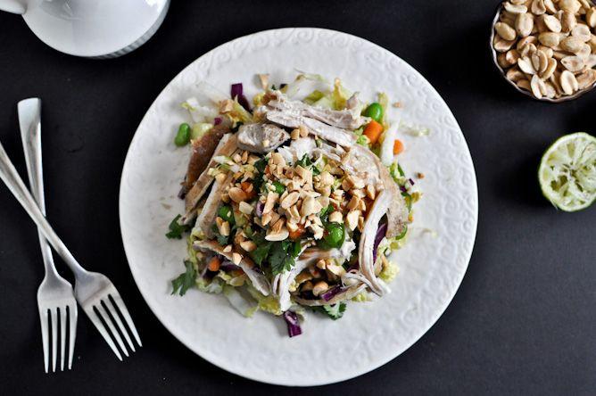thai crunch chicken salad: Thai Crunches, Thai Chicken, Chicken Salads, Crunches Salad, Thai Salad, Favorite Recipes, Chicken Salad Recipes, Crunches Chicken, Asian Chicken Salad