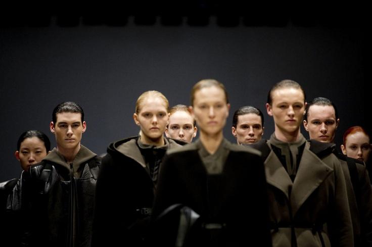 Rad Hourani at Toronto Fashion Week 2012 (Carlos Osorio/TORONTO STAR)