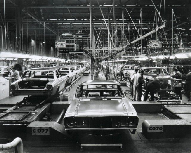 Sievers, Wolfgang, Car Body Assembly Lines, Ford Motor Company, Broadmeadow, VIctoria 1966