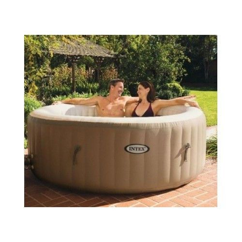 portable heated spa 4person inflatable hot tub jacuzzi bubble therapy patio deck ebay health. Black Bedroom Furniture Sets. Home Design Ideas