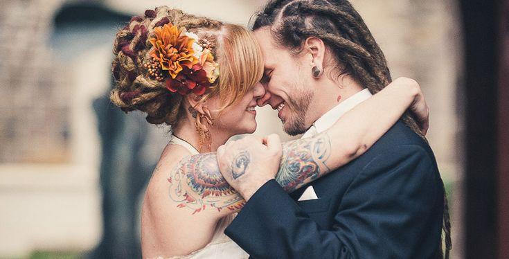 Sélection de 21 superbes mariées tatouées