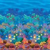 40' Coral Reef Scene Setter