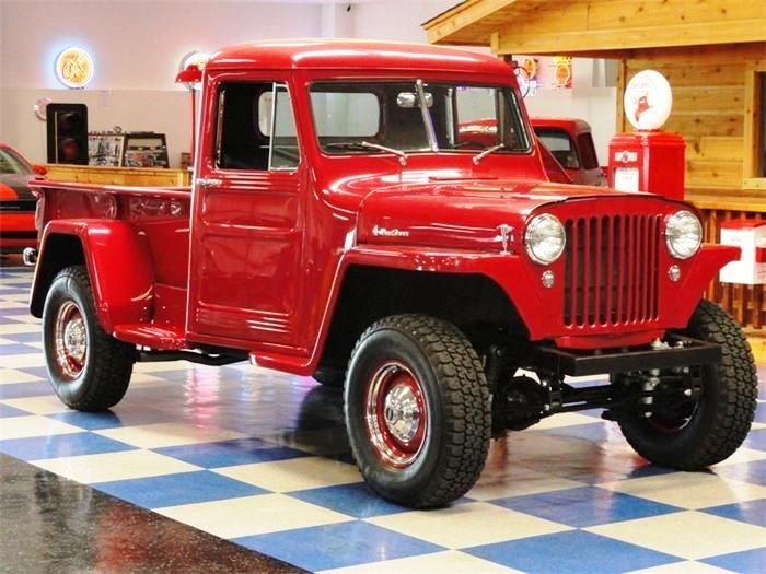 Old Jeep Pickup !