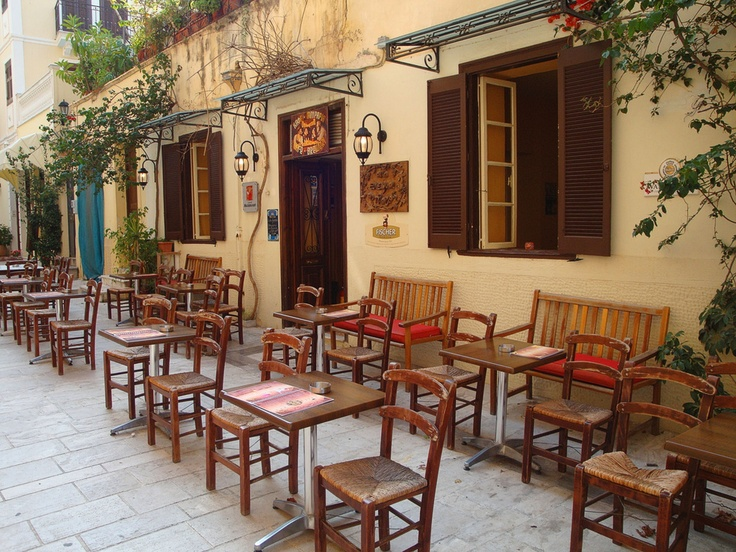 Taverna in Nafplion, Greece
