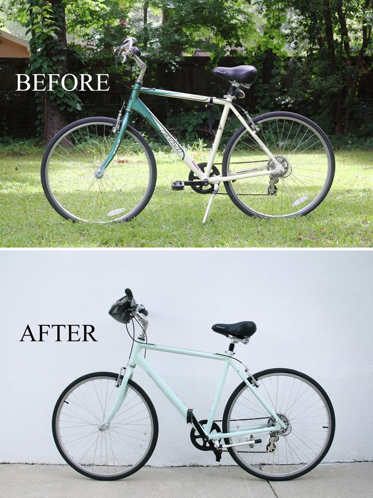 We Can Make Anything: Paint-a-Bike Tutorial