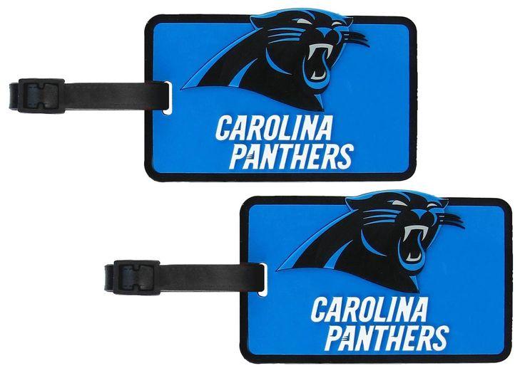 Carolina Panthers - NFL Soft Luggage Bag Tag - Set of 2