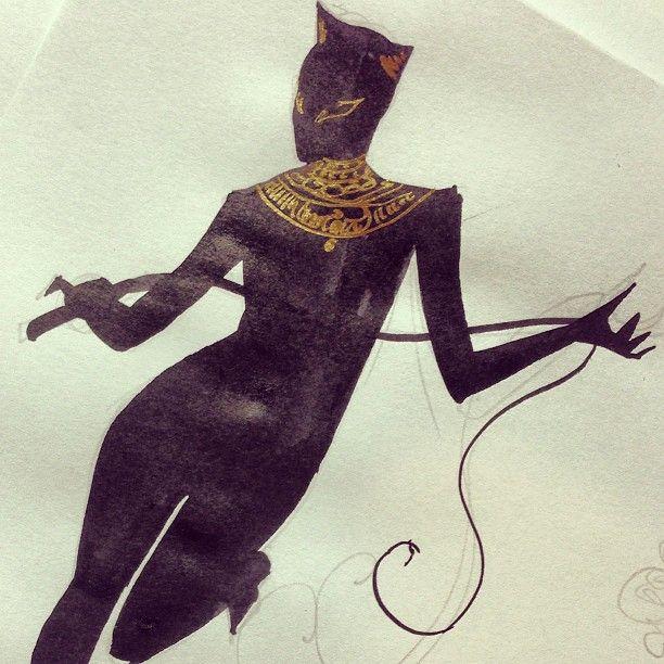 kevin wada illustration: lokiloo:   Megacon 2015 Catwoman, based on...