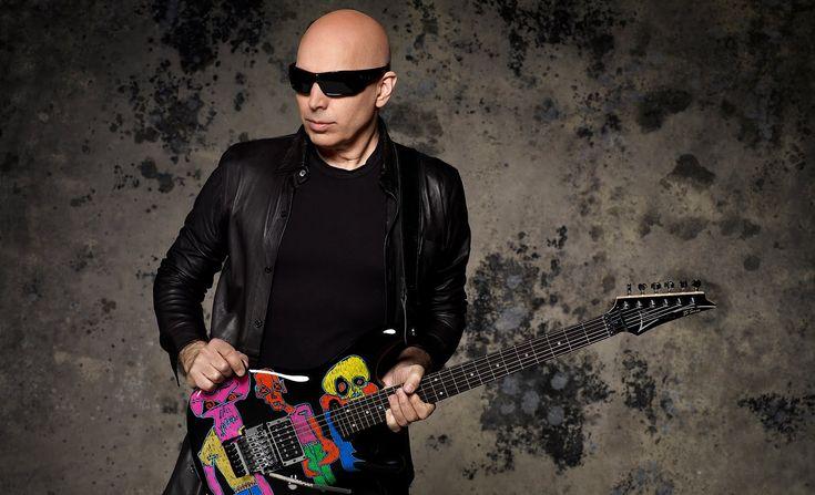 Joe Satriani demos the Satch Track Neck & Mo' Joe Pickups Amazing Pickups ,Amazing Démo and Amazing JOE SATRIANI