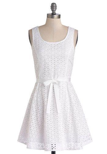 Little White Dress (under $70!)