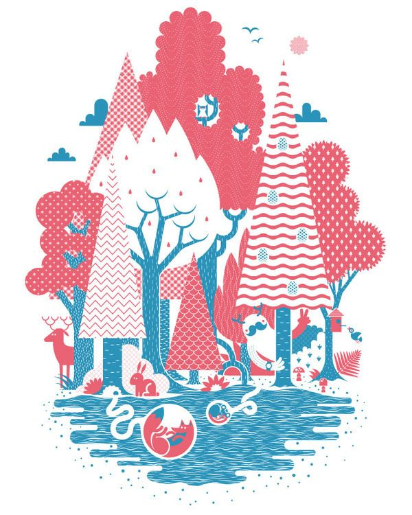 Threadless Shirts on Behance