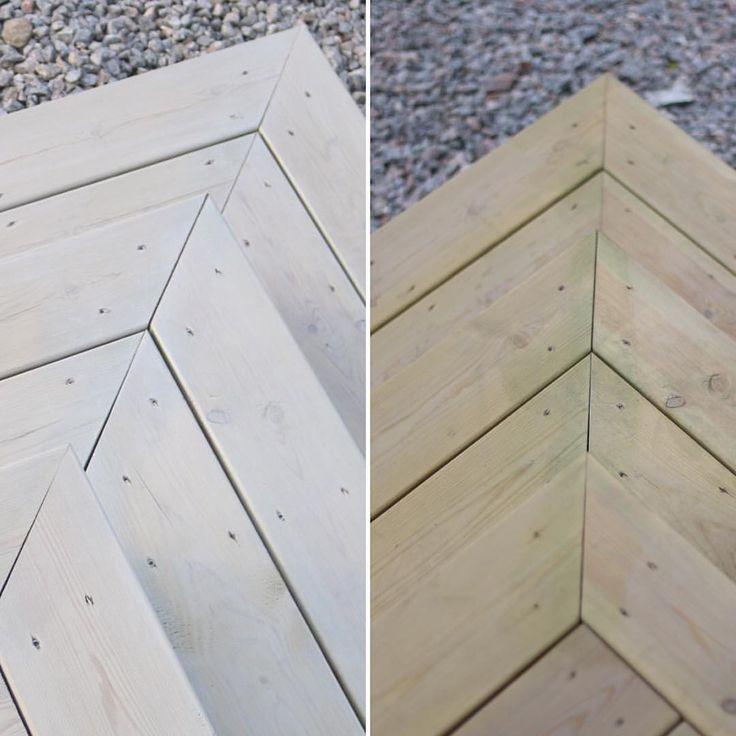 Blev en väldig skillnad med lite lasyr  #byggahus #nybyggt #trappa #lasyr #demidekk
