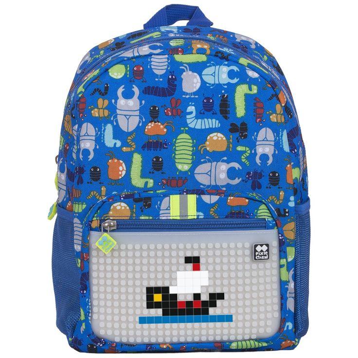 PIXIE CREW Kid´s Backpack BEETLES/GLOW IN THE DARK - Kid´s Backpacks - Backpacks  | Pixie Crew