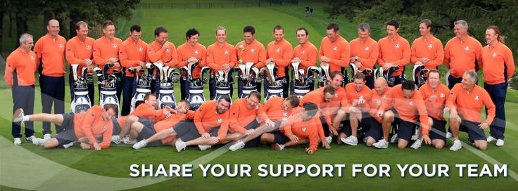 European Ryder Cup Team