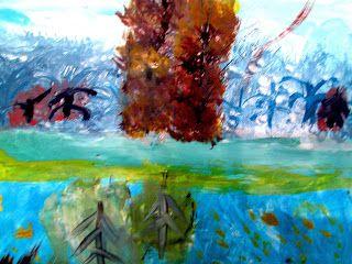 Творческая площадка: Урок ИЗО: Осень-художник.