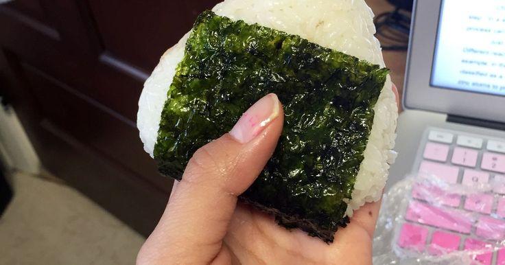Gabriela Martinez on (Not)Recipes by Food52: seaweed, tuna, ramen flavor packet, rice
