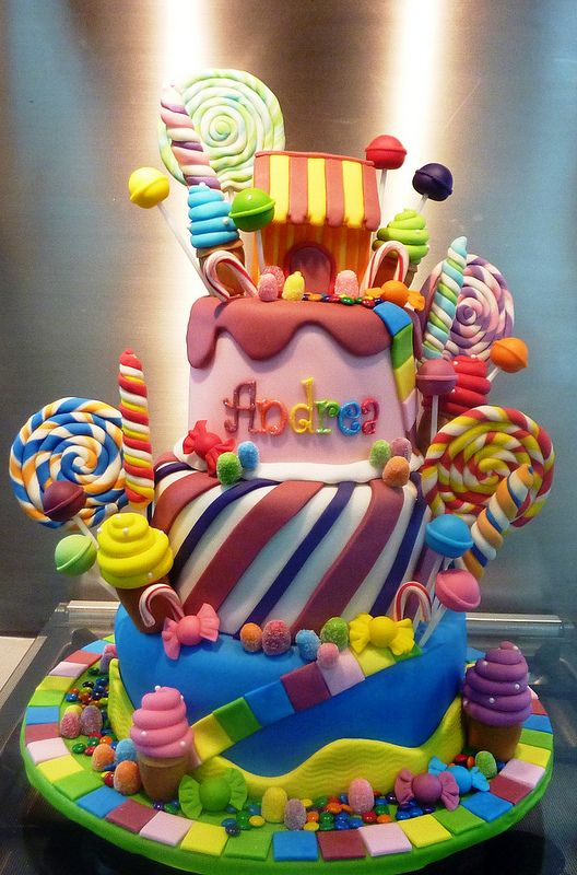 Candyland Cake for Clara's bday (although she says she wants Frozen party with candy land cake...
