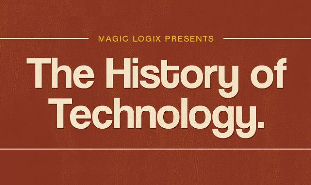 How much of an impact technology has had on each of us and how far it's come over the years. Mmagiclogix has created this handy infographic that shows you just how we've been impacted by tech.
