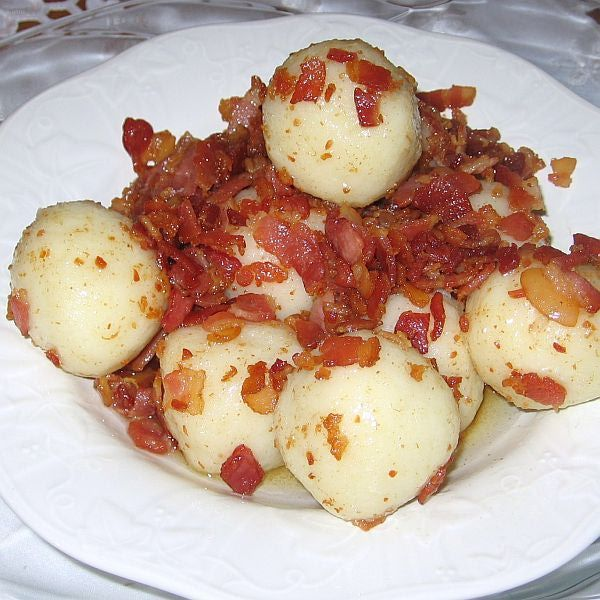 Polish Grated Potato Dumplings Recipe - Recipe for Polish Grated Potato Dumplings or Pyzy