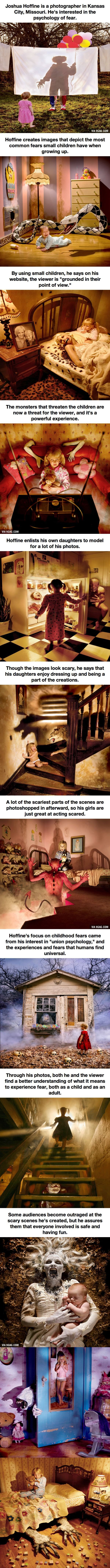 12 Seriously Disturbing Pictures Of Children's Nightmares. My body got more tense with each picture.  So scary