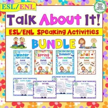 English Language Learners Will Get Plenty Of Practice With Their Speaking And Speaking Activities Middle School Activities English Language Learners Activities
