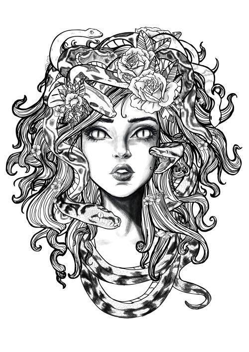 Image result for medusa tattoo