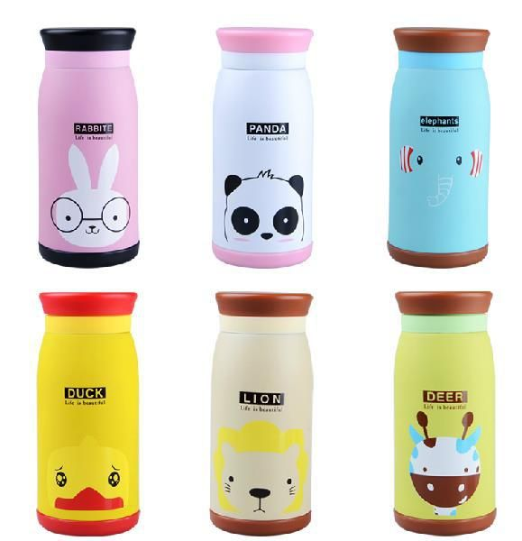 freeshipping Cartoon Picture Pattern 500ML Stainless Vacuum Cup Thermos Bottle Thermo Drinkware Termo Water Flask Temos Thermal