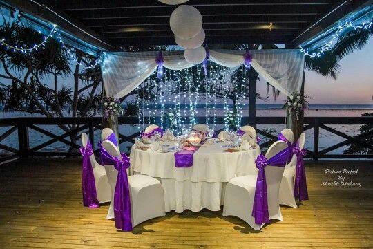 Warwick reception setup