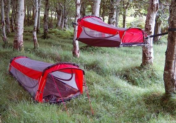 Crua Hybrid Works as Tent and Hammock