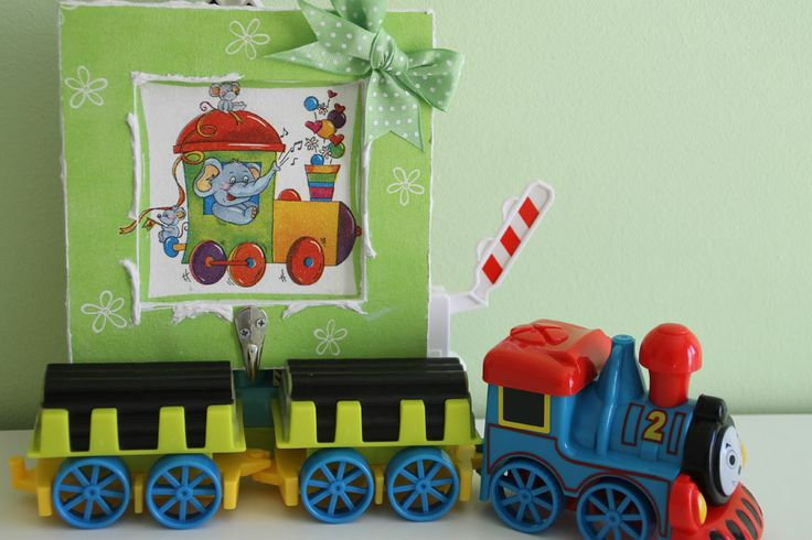 thomas & friends #decoupage