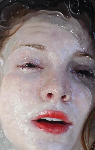 hyperrealism paintings by Alyssa Monks
