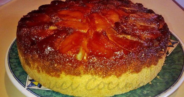 Fabulosa receta para Torta invertida de manzanas fácil. De mis preferidas!!!! La hago para la merienda cada vez que puedo.
