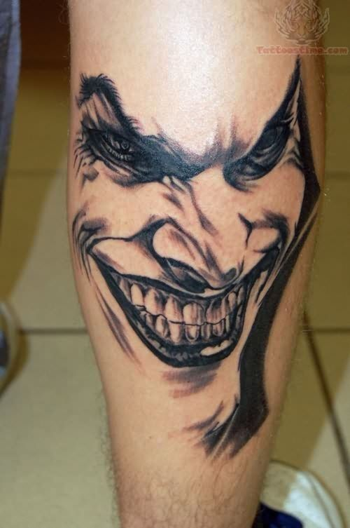 Tattoos Of Celebrity Faces | Joker Tattoos Pictures and Images : Page 19