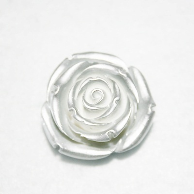 Rosa de resina.